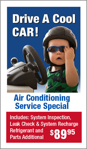 A/C Service Special -- $89.95
