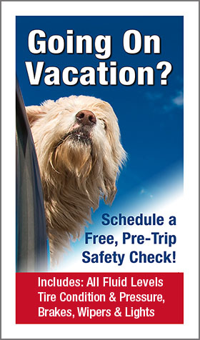 Schedule a Free, Pre-Trip Safety Check!