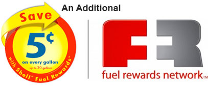 Fuel Rewards Program Logo - Save 5 cents a Gallon