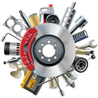 Repair Work - Set of gears and tools