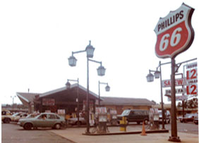 Picture of the Station in 1966 when it was a Phillips 66